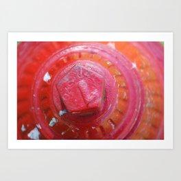 Red Fire Art Print