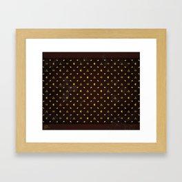 Retro Habit Framed Art Print