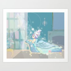 Queen Marie Antoinette - France Art Print