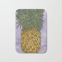 Pineapple Kush Bath Mat