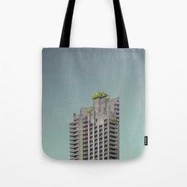 LND CLR X-5 London Colour Architecture Art Tote Bag