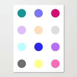 Cinazepam Canvas Print