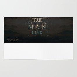 Let God Be True Rug