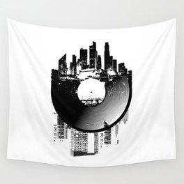Urban Vinyl of Underground Music Wall Tapestry
