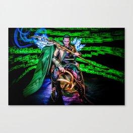 Little Loki Canvas Print