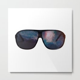 """Space Shades"" Metal Print"