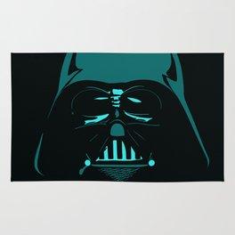 Tron Darth Vader Outline Rug
