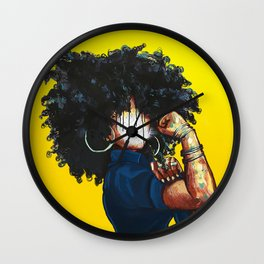 Naturally the Riveter Wall Clock