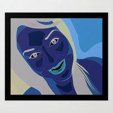 Kio Art Print