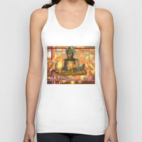 meditation Tank Tops featuring Meditation by Paola Canti