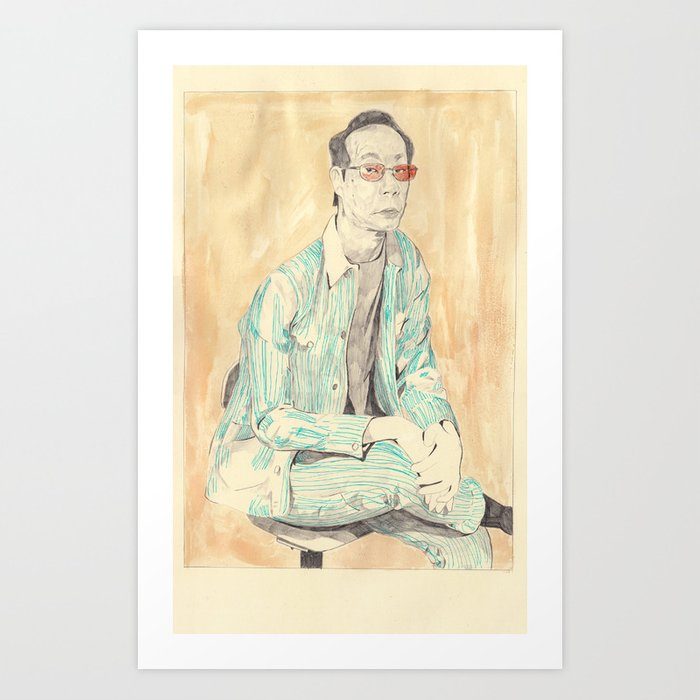 cannibal fashion - Issei Sagawa Art Print by ryanhumphrey