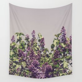 Wild Lilacs Wall Tapestry