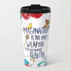 Alice in Wonderland - Imagination Metal Travel Mug
