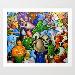 All terraria's pets Art Print