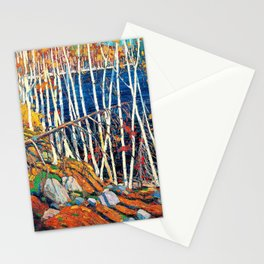 Tom Thomson - In the Northland - Digital Remastered Edition Stationery Cards