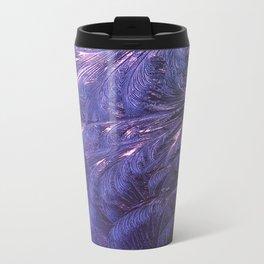 Ice Fractals 2 Metal Travel Mug