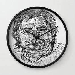 The Master Of Horror Wall Clock