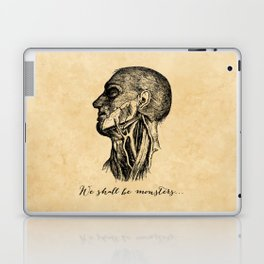 Frankenstein - Mary Shelley - We Shall Be Monsters Laptop & iPad Skin