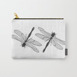 Bugs - Giant dragonfly in ink Carry-All Pouch