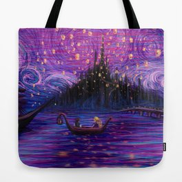 The Lantern Scene Tote Bag