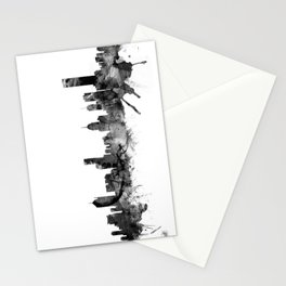 Melbourne Skyline Stationery Cards