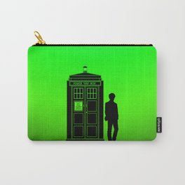 Tardis With The Eleventh Doctor Carry-All Pouch