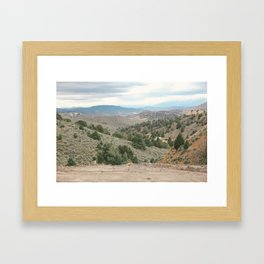 West Framed Art Print