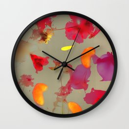Falling Joy IV Wall Clock