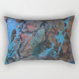 The Painter's Brush :: Corrupted Ocean Rectangular Pillow