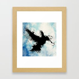 Hummingsplat Framed Art Print