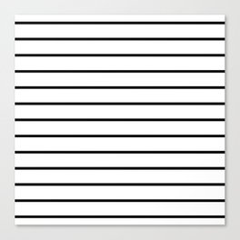 Minimalist Stripes Canvas Print