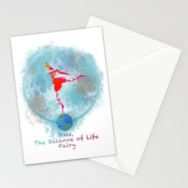 Axis, the Balance of Life Fairy Stationery Cards
