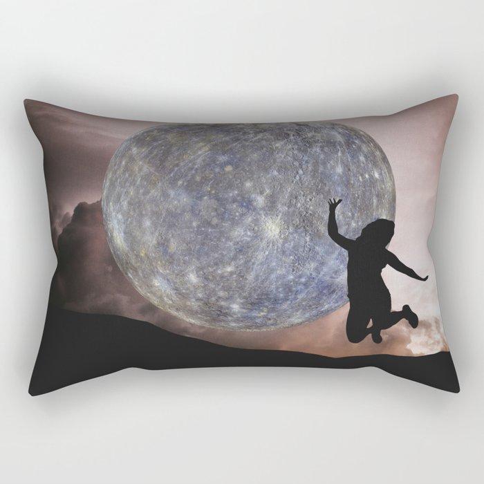 DANCING WITH THE MOON Rectangular Pillow