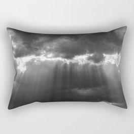 Black Light Rectangular Pillow