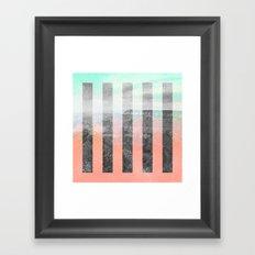 CANYON TRAIL Framed Art Print