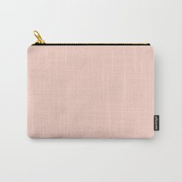 Peach Color Carry-All Pouch