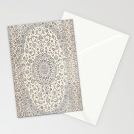 Bohemian Farmhouse Traditional Moroccan Art Style Texture Stationery Cards