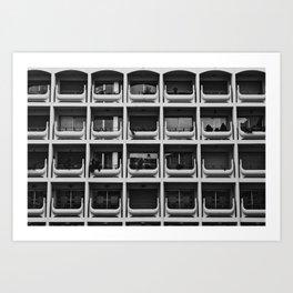 URBAN ABSTRACT 4 Art Print