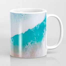 Amazing ocean waves whit epoxy resin Coffee Mug