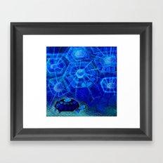 Origami Tortois 4 Framed Art Print