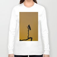 silhouette Long Sleeve T-shirts featuring Silhouette by Ian Bevington