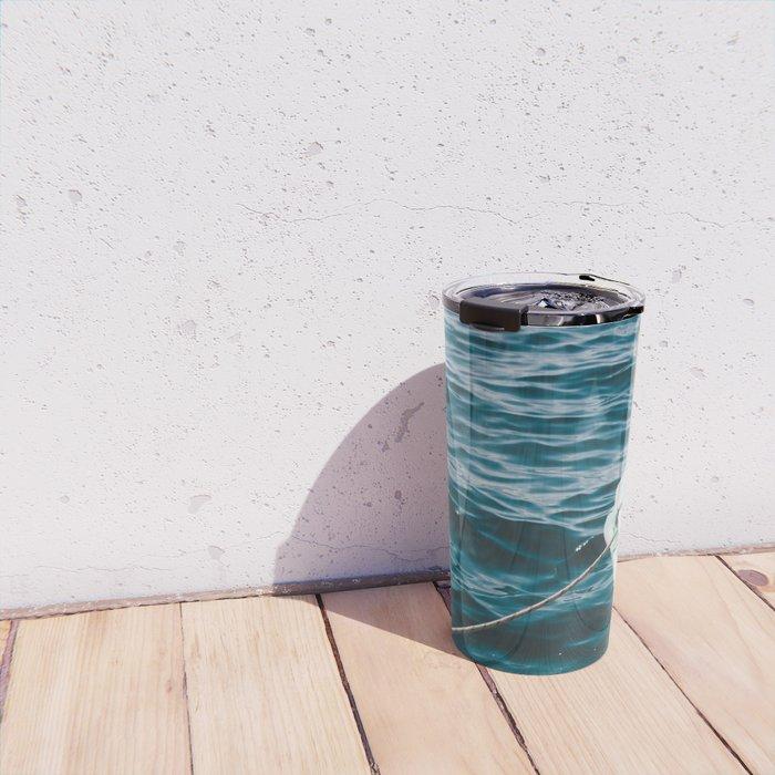 BOAT - WATER - SEA - PHOTOGRAPHY Travel Mug