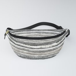 Grunge Stripes Design Print Fanny Pack