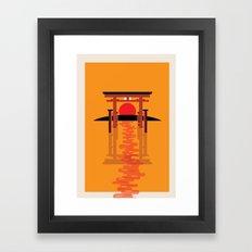 Tori Gate Framed Art Print