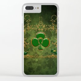 Happy st. patrick's day Clear iPhone Case
