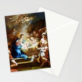 Sebastiano Conca The Adoration of the Shepherds Stationery Cards