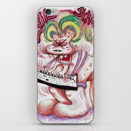 Evil Synth iPhone Skin