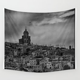 Italian Townscape Wall Tapestry