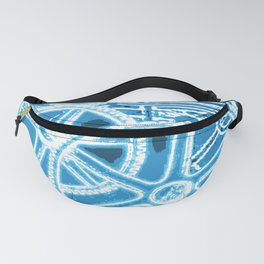 Geared Up ( Big Blue) Fanny Pack