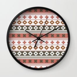 Crosses collection Wall Clock